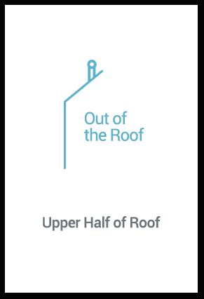 Upper Half of Roof